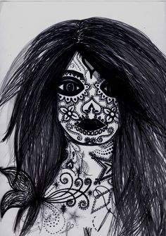 Girl of the Day of the Dead