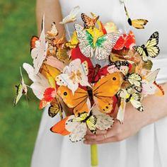 Un ramo... de mariposas!!