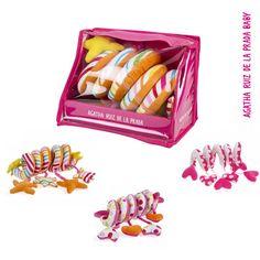 En nuestra sección de puericultura podrás encontrar estos preciosos sonajeros para el carrito. #AgathaBaby
