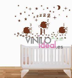 vinilos decorativos vinilos ovejas vinilos pared adhesivos decorativos infantiles decoracin de paredes