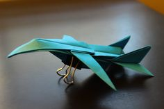 How to Make a F15 Origami Paper Plane: tutorial