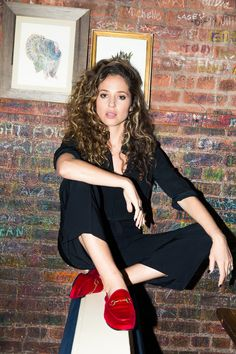 We ask The Deuce's Margarita Levieva to spill on the new HBO show, its incredible cast, and what it's like playing a college student in your Brunette Beauty, Hair Beauty, Girls Hbo, Suits Tv Shows, Babe, She's A Lady, Weather Wear, Woman Crush, Street Chic