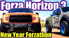 New Year Celebration FORZA HORIZON 3 Forzathon Guide