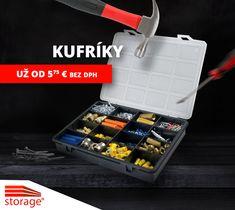 Potešte svoju drahú polovičku praktickým darčekom :) V tomto plastovom kufríku môže uchovať svoje poklady - klince, šróby, skrutky :D Lunch Box, Storage, Purse Storage, Store