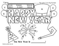 243 Best color by numbers adult coloring pages images in