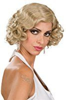Rubie's Costume Roaring 20S Mixed Blond Flapper Wig