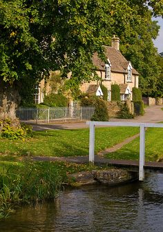 Lower Slaughter, Gloucestershire by Anguskirk on Flickr (The Cotswold village of Lower Slaughter with a stream running beside picturesque stone houses is considered to be one of the prettiest in England.)