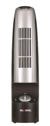 Product Details:  Bell   Howell Ionic Whisper Air Purifier