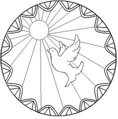 Znalezione obrazy dla zapytania esprit saint représentation