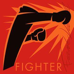 FIGHTER – Poets Unlimited – Medium