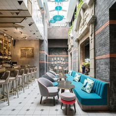 The original early 1900's decorative Chinese archways have been kept creating a secret alleyway. Opening into this alleyway you discover the bar and lounge area. A two storey atrium complete with a floating DJ booth, creates a dramatic entrance.