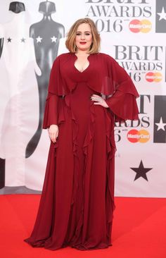 Pin for Later: The Brit Awards Kicked Off With a Star-Studded Red Carpet Adele