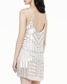 @PARKER Hayden Sleeveless Sequined Dress