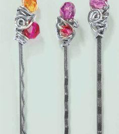 Wire Wrap Hair Pin