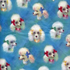 Poodle paper. Kitschy Living