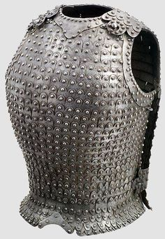 "Iron cuirass in Lamellar -like style (Germany, 15th century). Probably an Eastern Roman artistic influence. Resembles Archaic Greek bell cuirass (thorax, 6th century BCE) in shape, and Medieval Roman (""Byzantine"") lamellar armour (klibanion) in construction."