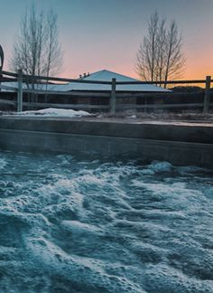 Easing into January with a sunset hot tub session at the Granite Lodge. This month has been filled with cotton candy skies and powder white days.