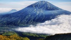 The view from Merapi