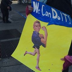 Lookin' good there, Rosie. | 38 Of The Best Signs From The 2014 NYC Marathon