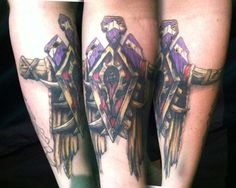 WoW Warcraft Horde Shaman Insignia Tattoo