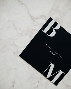 Bodoni III is double sided. Available in black or white, square or rectangle :) . Wedding Invitation Design, Wedding Stationary, Modern Wedding Invitations, Wedding Programs, Save The Date Karten, Invitation Paper, Gala Invitation, Save The Date Invitations, Invites