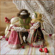 Купить Семья - семья, оберег, народная кукла, обережная кукла, брак, подарок для семьи, свадьба