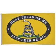 Live Free or Die Flag, Gadsden Flag