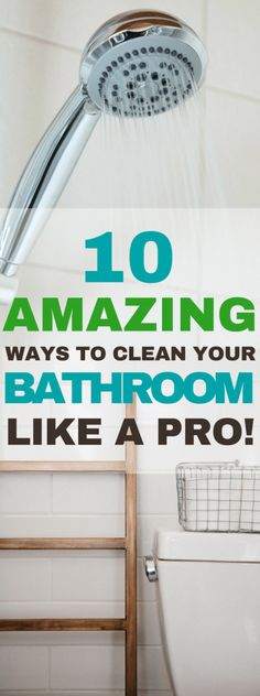 DIY Bathroom Cleaning Tips | 10 Bathroom Cleaning Hacks To Make Your Life Easier #bathroom #cleaning #cleaningtips #cleaninghacks