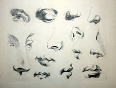 Figure Drawing: How to draw Eyes, Nose, Ears and Mouths