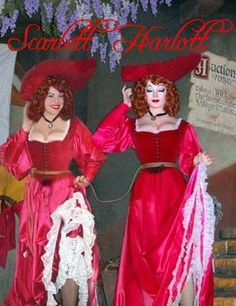 Others may have duplicated the outfit, but NO ONE is a better POTC redhead than the Scarlett Harlott. http://www.scarlettharlott.com/gallery.php