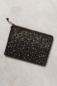 jeweled mosaic pouch / anthropologie