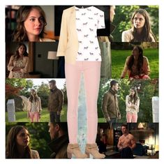 Arrow~Thea Queen~1x02~Honor Thy Father by tvshowobsessed on Polyvore featuring polyvore fashion style Tory Burch Balenciaga Sole Society clothing