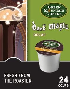 Green Mountain Dark Magic DECAF Extra Bold Coffee 1 Box of 24 Kcups *** Check out the image by visiting the link. (This is an affiliate link and I receive a commission for the sales)