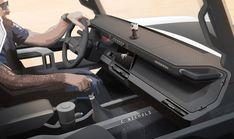 FORD BRONCO, DESIGNED FOR ADVENTURE - Auto&Design Car Interior Sketch, Car Interior Design, Car Design Sketch, Interior Concept, Car Sketch, Automotive Design, Auto Design, Bronco Sports, Dashboard Design