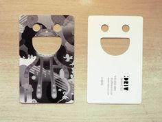 So you want some creative business card design inspiration. Creative business card designs are cards bearing business information about a company or individual. Die Cut Business Cards, Artist Business Cards, Business Card Design, Creative Business, Name Card Design, Bussiness Card, Creative Names, Grafik Design, Name Cards