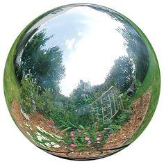 contemporary yard art stainless steel gazing globe silver contemporary garden statues and contemporary metal garden art