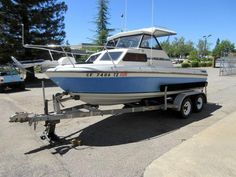 Check out this 1990 Marlin 18 foot Cuddy Cabin Boat! It's located in Auburn, CA and can be found on our website.