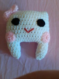 Tooth pillow by BobbiesLife on Etsy https://www.etsy.com/listing/256686457/tooth-pillow