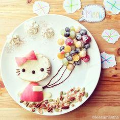 Le Food Art de Samantha Lee Photo (Hello Kitty Food Art? Cute!)