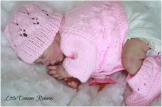 LITTLE DREAMS REBORNS Baby Girl Doll ~ Rosebud Sculpt ~ Reborn By Johanna Evans | eBay