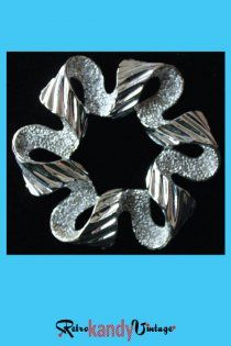"1960's Vintage Sarah Coventry ""Ribbonette"" Brooch"