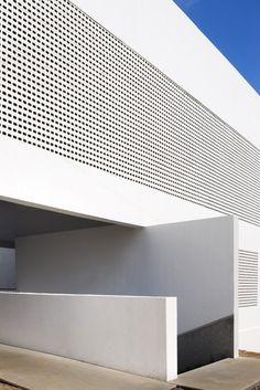 News: The modern minimalist architecture community Modern Architecture Design, Brick Architecture, Minimalist Architecture, Commercial Architecture, Facade Design, Modern Buildings, Interior Architecture, House Design, Interior Design