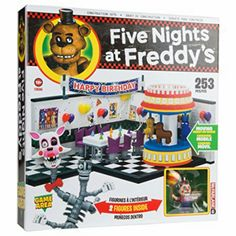 McFarlane Toys FNAF2 Five Nights at Freddy's Game Area 253 Pieces Buildable Construction Set - #11695 (Balloon Boy & Mangle)