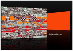 A découvrir au 2ème Salon d'œuvres numériques en ligne sur www.myrankart.com  Rythmes Cdio by Carine Dionisi