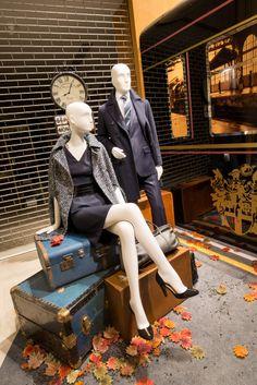 DAKS Window Display | Train Scheme, 2013 by Millington Associates We have lots of mannequins for sale @ www.mannequinmadness.com!