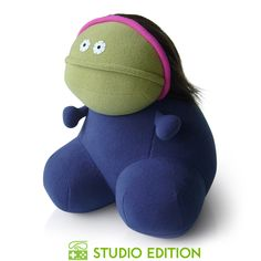 Maggie has got a vivid imagination. She never lets the facts get in the way of a good story. $40 #plush #monster #monsterfactory #toy #design