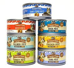 Merrick Purrfect Bistro Pate Canned Cat Food Variety Pack  7 Flavors Chicken Duck Tuna Turkey Salmon Beef and Surf  Turf  3 Ounces Each 14 Total Cans  2 of Each Flavor -- Learn more by visiting the image link.