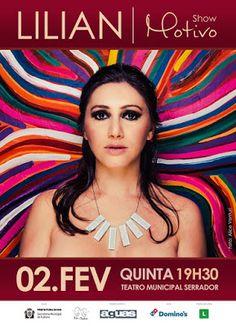 """Agenda Cultural RJ: hoje, Lilian apresenta o show """"Motivo"""" no Teatro Municip..."""