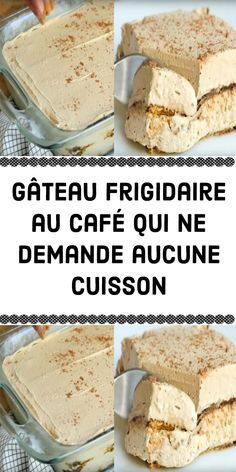 gateau-frigidaire-au-cafe-qui-ne-demande-aucune-cuisson/ delivers online tools that help you to stay in control of your personal information and protect your online privacy. Desserts Rafraîchissants, Banana Dessert Recipes, Mini Cheesecake Recipes, Brownie Recipes, Snack Recipes, Easy Recipes, Gentilly Cake Recipe, Rumchata Recipes, Dessert Parfait
