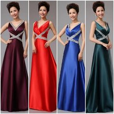 HOT  Fishtail Bride Evening Bridesmaid Dress Party Formal Prom Dresses Ball Gown #NEW #European